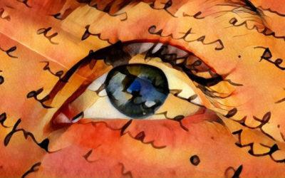 Os Olhos em Chamas